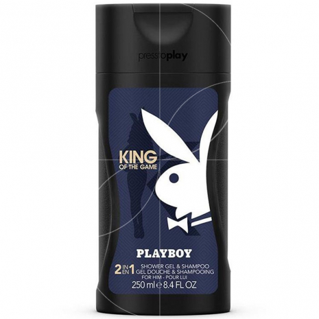PLAYBOY Gel Douche 250ml KING OF THE GAME Pour lui