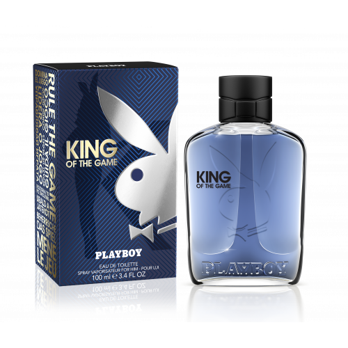PLAYBOY Eau de Toilette 100ml KING OF THE GAME Pour lui