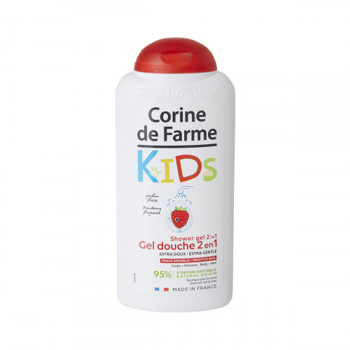 Gel douche Kids Corine de Farme Parfum fraise 300ml